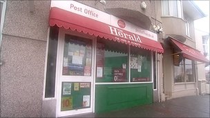 Efford Road Post Office