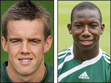 Craig Noone and Bradley Wright-Phillips