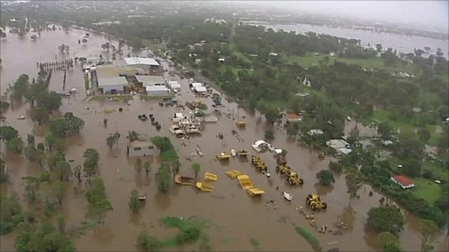Flooding in Rockhampton