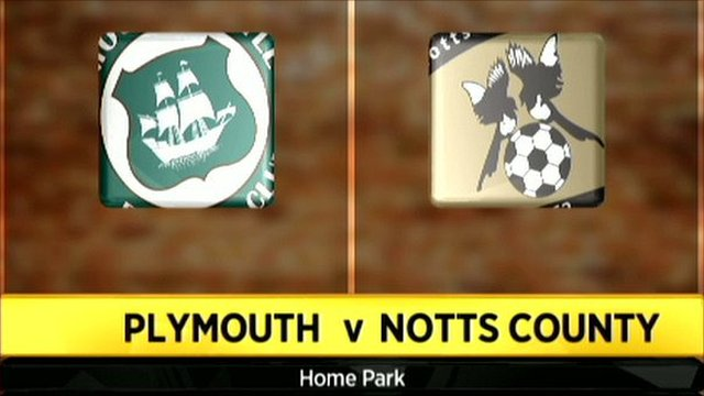 Plymouth v Notts County