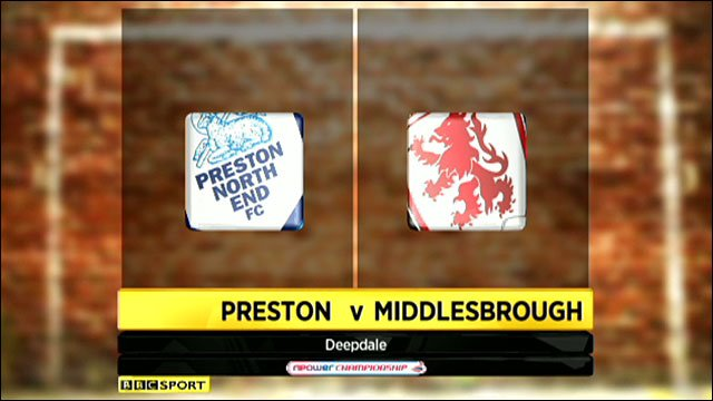 Preston 1-3 Middlesbrough