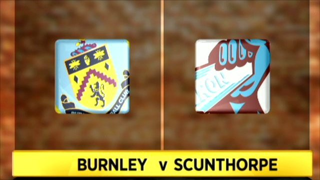 Burnley 0-2 Scunthorpe