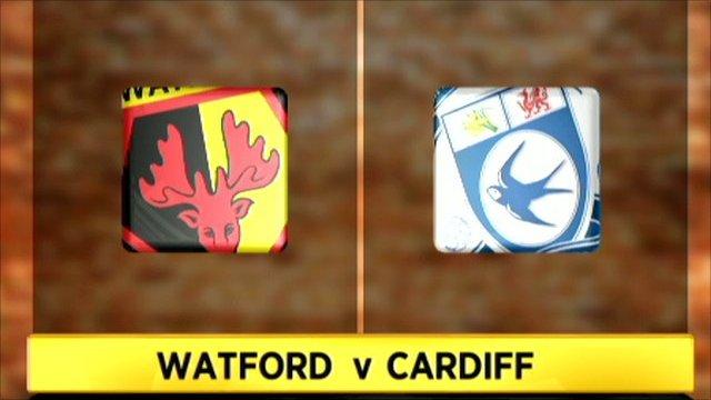 Watford 4-1 Cardiff City
