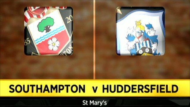 Southampton v Huddersfield