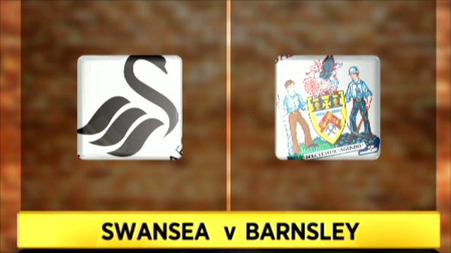 Highlights - Swansea City 1-0 Barnsley