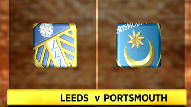 Leeds United 3-3 Portsmouth