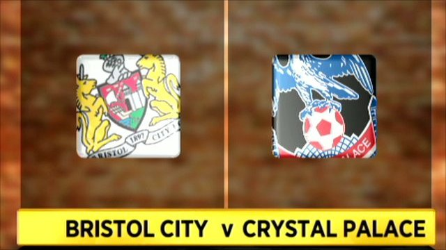 Bristol City 1-1 Crystal Palace