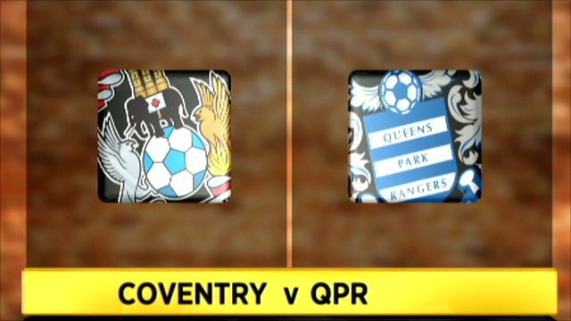 Coventry 0-2 QPR