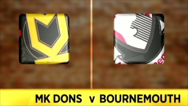 MK Dons 2-0 Bournemouth