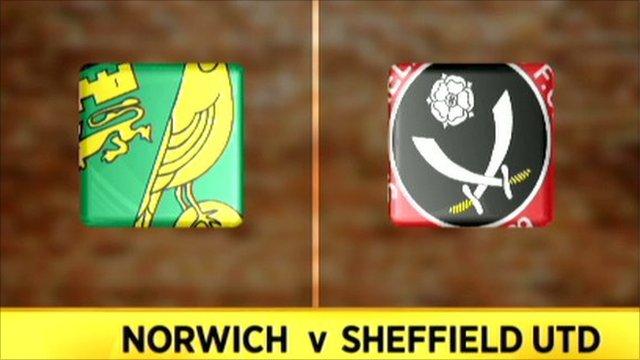 Norwich 4-2 Sheff Utd