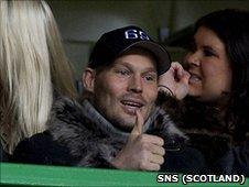 Celtic trialist Freddie Ljungberg