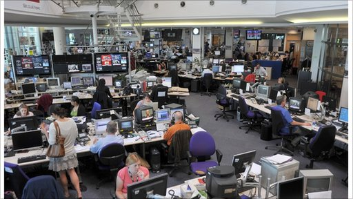 The Newsroom, Television Centre