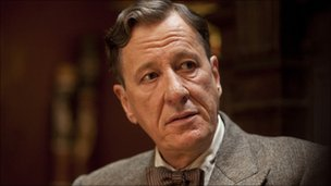 Geoffrey Rush  as Lionel Logue in The King's Speech