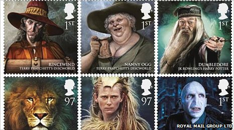 Royal Mail's Magical Realms stamps