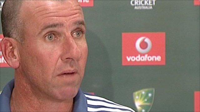 Australia coach Tim Nielsen