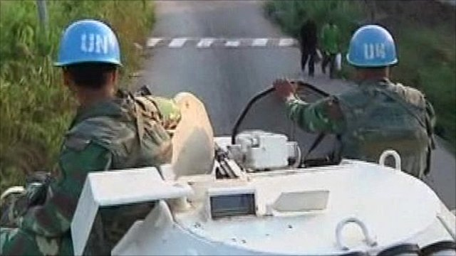 The UN on patrol in the Ivory Coast