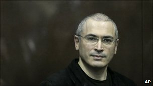 Mikhail Khodorkovsky in court in Moscow, 30 December
