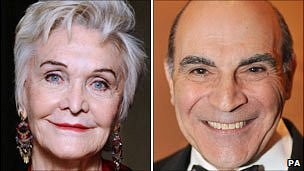 Sheila Hancock and David Suchet