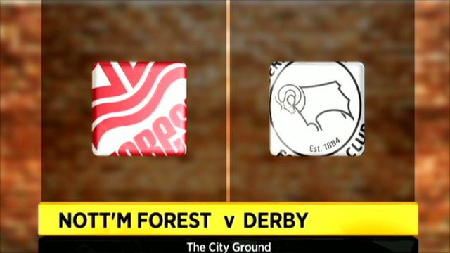 Highlights - Nottingham Forest 5-2 Derby