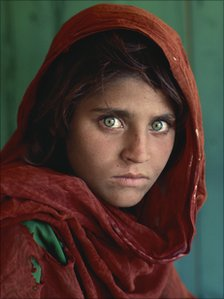 The Afghan Girl photo is recognized around the world