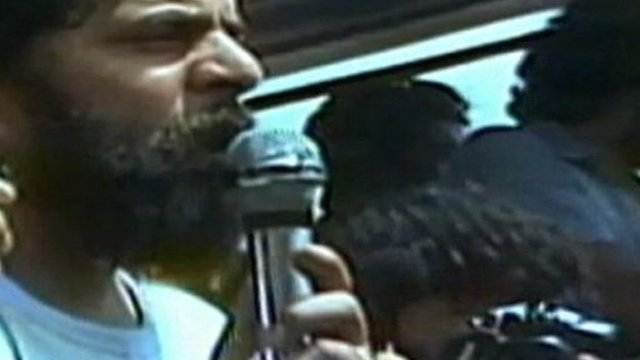 Lula da Silva in his early days as a politician