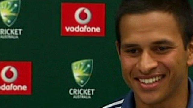 Australia's Usman Khawaja