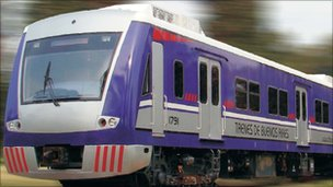 A TBA train (archive image from company website)
