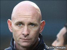 Sacked Barnet boss Mark Stimson