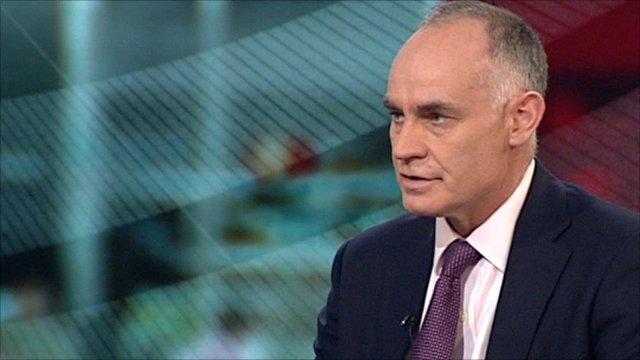 Prisons Minister, Crispin Blunt