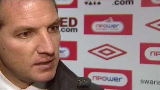 Swansea boss Brendan Rodgers