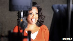 Undated photo of Oprah Winfrey