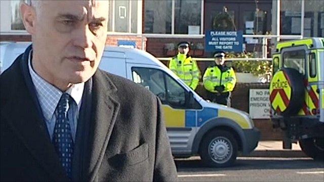 Prisons Minister Crispin Blunt