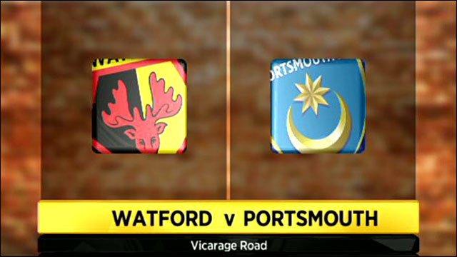 Watford v Portsmouth