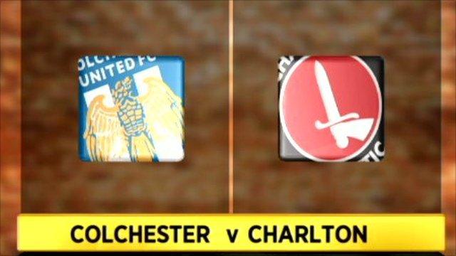 Colchester 3-3 Charlton
