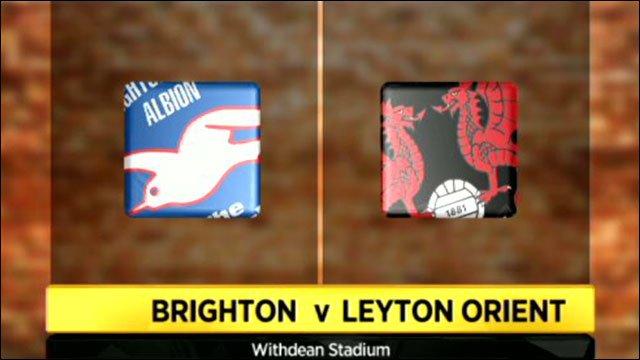 Brighton v Leyton Orient