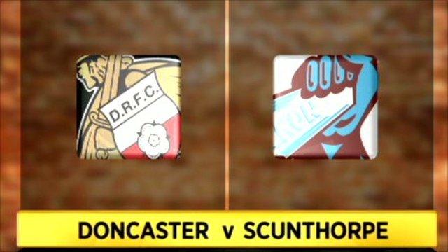 Doncaster 3-0 Scunthorpe