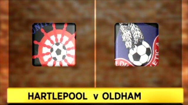Hartlepool 4-2 Oldham