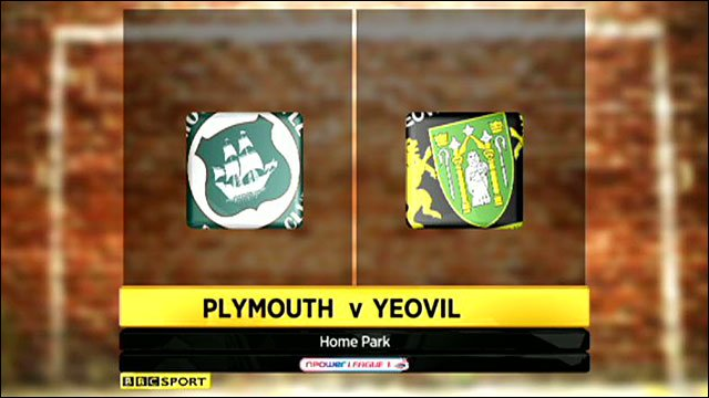Plymouth Argyle 0-0 Yeovil Town