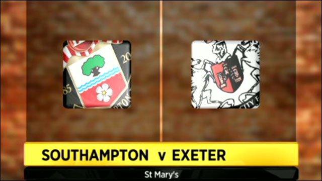 Southampton v Exeter