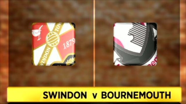 Swindon 1-2 Bournemouth