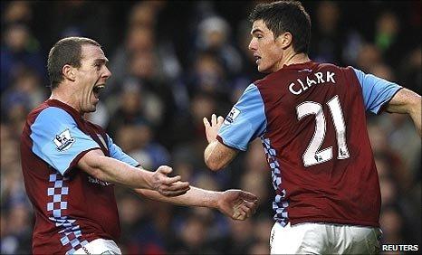 Villa celebrate Ciaran Clark's dramatic leveller