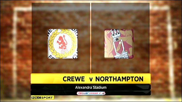 Crewe Alexandra 2-0 Northampton Town