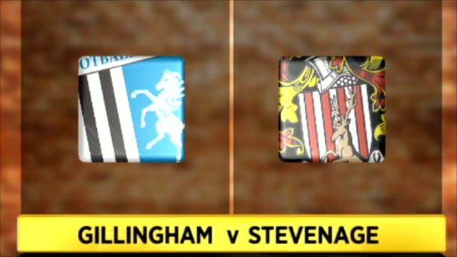 Gillingham 1-0 Stevenage