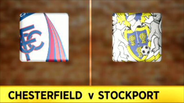 Chesterfield 4-1 Stockport