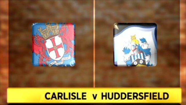 Carlisle 2-2 HUddersfield