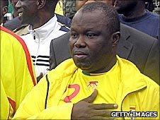 Benin football president Anjorin Moucharafou