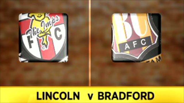Lincoln City 1-2 Bradford