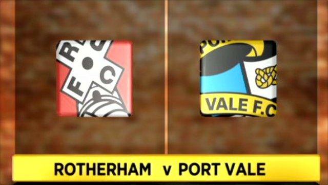 Rotherham v Port Vale