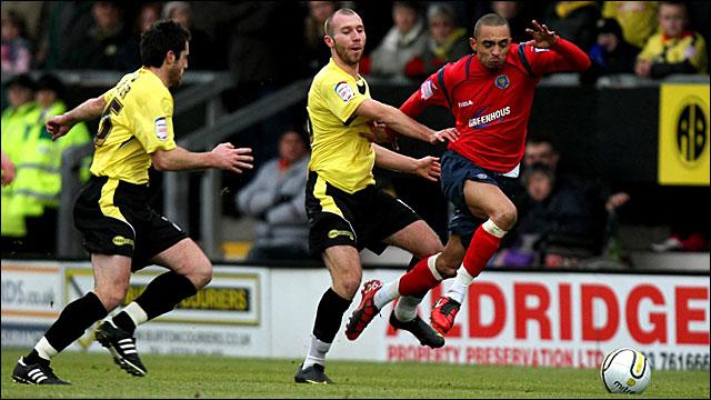Burton 0-0 Shrewsbury