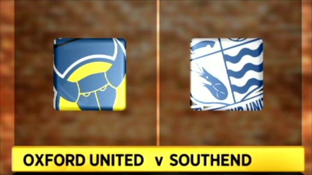 Oxford 0-2 Southend